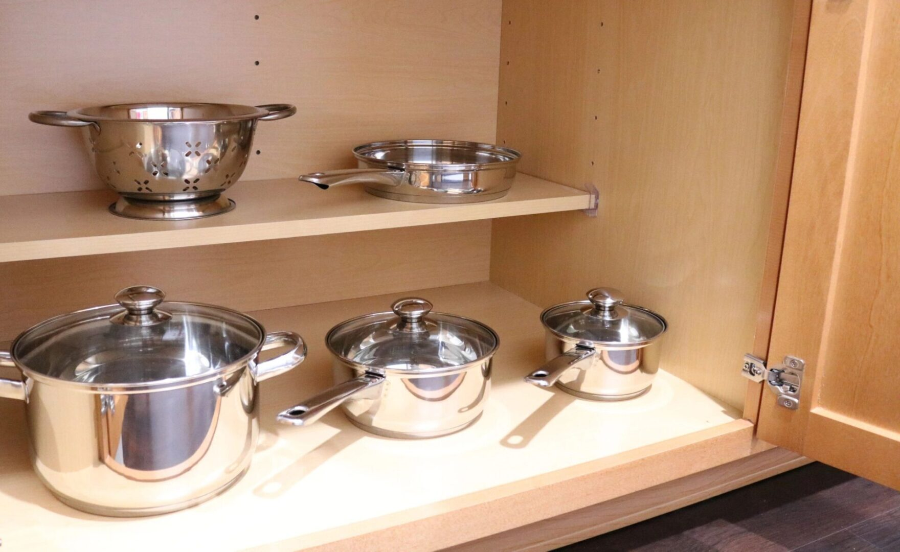 Every room has cookware to prepare your culinary meals